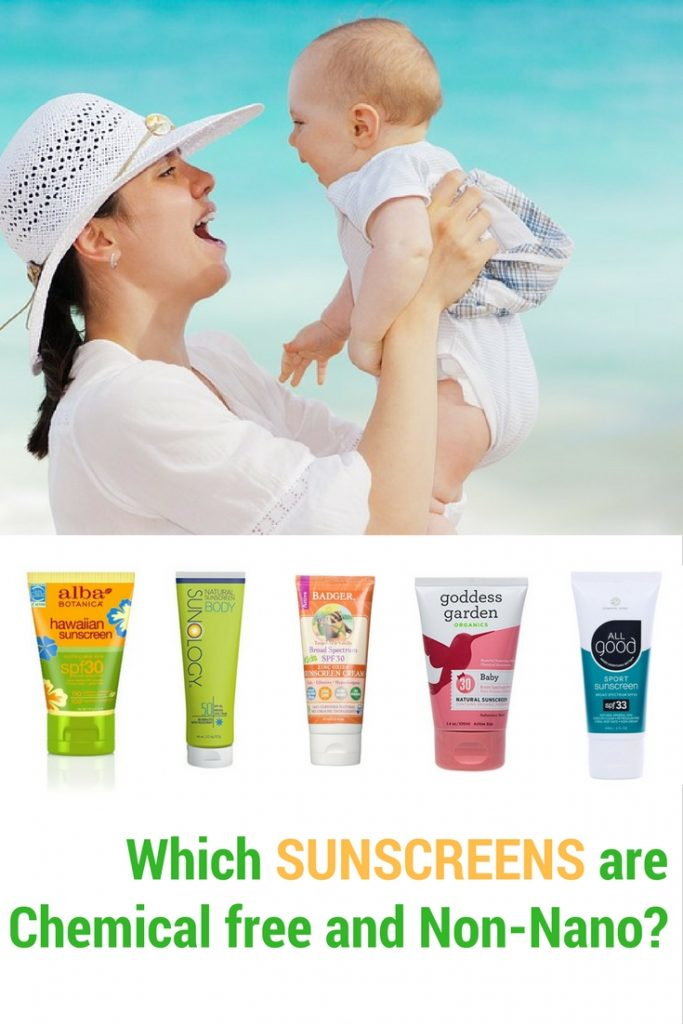 Which sunscreens are paraben free